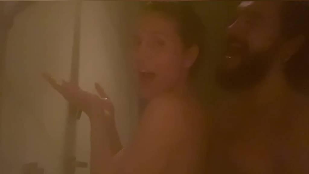Heidi Klum und Tom Kaulitz «singen» unter der Dusche