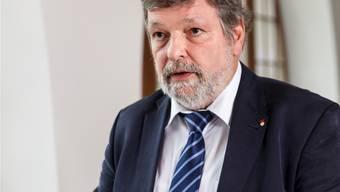 Finanzdirektor Roland Heim. bar