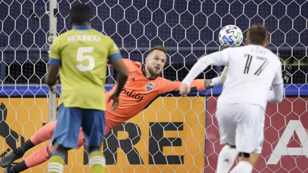 Stefan Frei steht mit Seattle erneut im MLS-Final