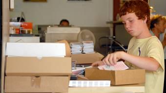 Für die Sommerferien suchen sich einige Schüler eine Tätigkeit, um ihren Kontostand aufzubessern.