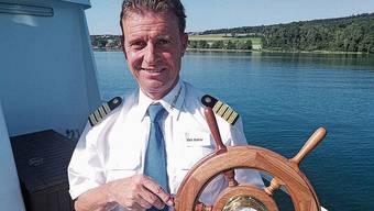 Ueli Haller hofft, bald wieder in See stechen zu können.