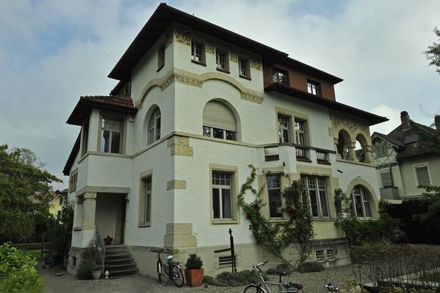 Wohnhaus Weltistrasse 17.