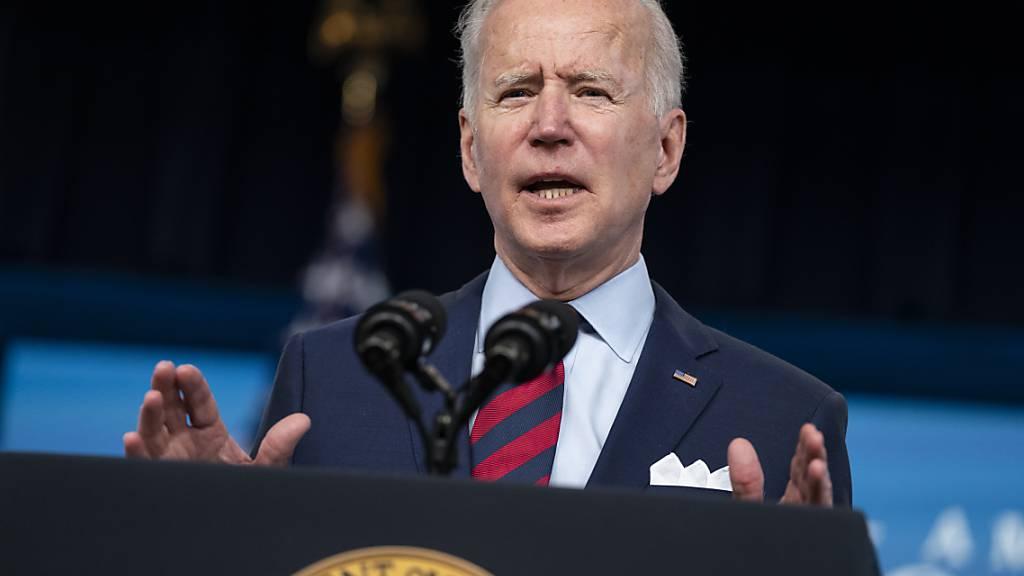 US-Präsident Biden will mit Verfügung gegen «Geisterwaffen» vorgehen