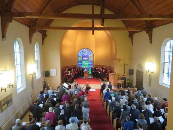 240 Katholiken und Protestanten feierten gemeinsam den Gottesdienst in der reformierten Kirche in Balsthal