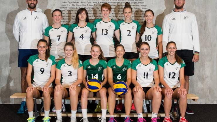 Das Damen NLB-Team von Volley Schönenwerd