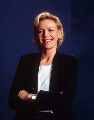 Schon seit 1992 moderiert Katja Stauber die Tagesschau.