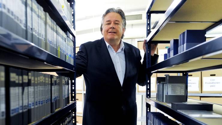 Willy Surbeck, der Telebasel-Chefredaktor, liebt den Blues. Foto: Martin Töngi