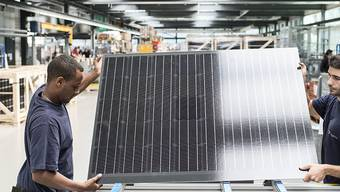 Meyer Burger baut Equipment für Solarzellen- und Solarmodule (Archivbild).