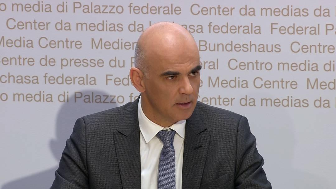 Gesundheitsminister Alain Berset: «Der Bundesrat will das wirtschaftliche und gesellschaftliche Leben nicht verhindern – im Gegenteil»