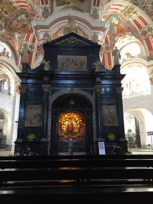 Die Gnadenkapelle mit der Schwarzen Madonna.
