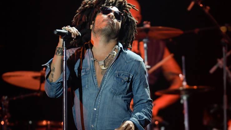 Hausbesitzer und Helfer vor Ort: US-Musiker Lenny Kravitz, hat einen engen Bezug zu den Bahamas.