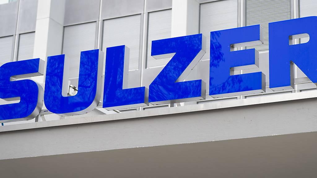 Sulzer steigert Bestellungseingang in ersten neun Monaten