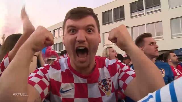 WM-Finaleinzug der Kroaten: Eine ganze Nation im Freudentaumel