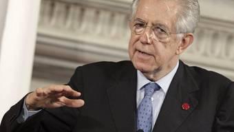 Der italienische Ministerpräsident Mario Monti (Archiv)