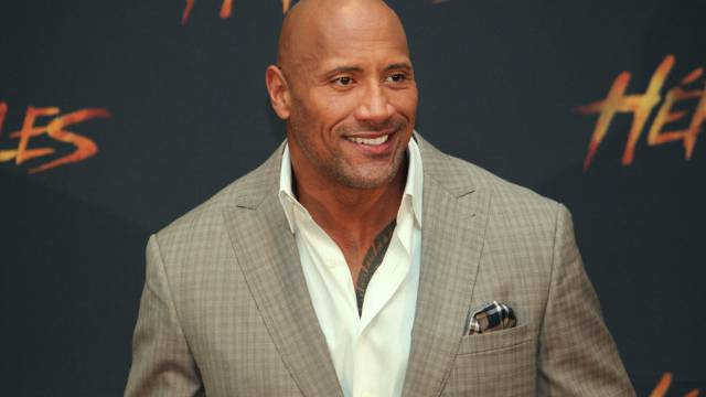 "Dwayne Johnson stellt seinen Film ""Hercules"" vor (Key)"