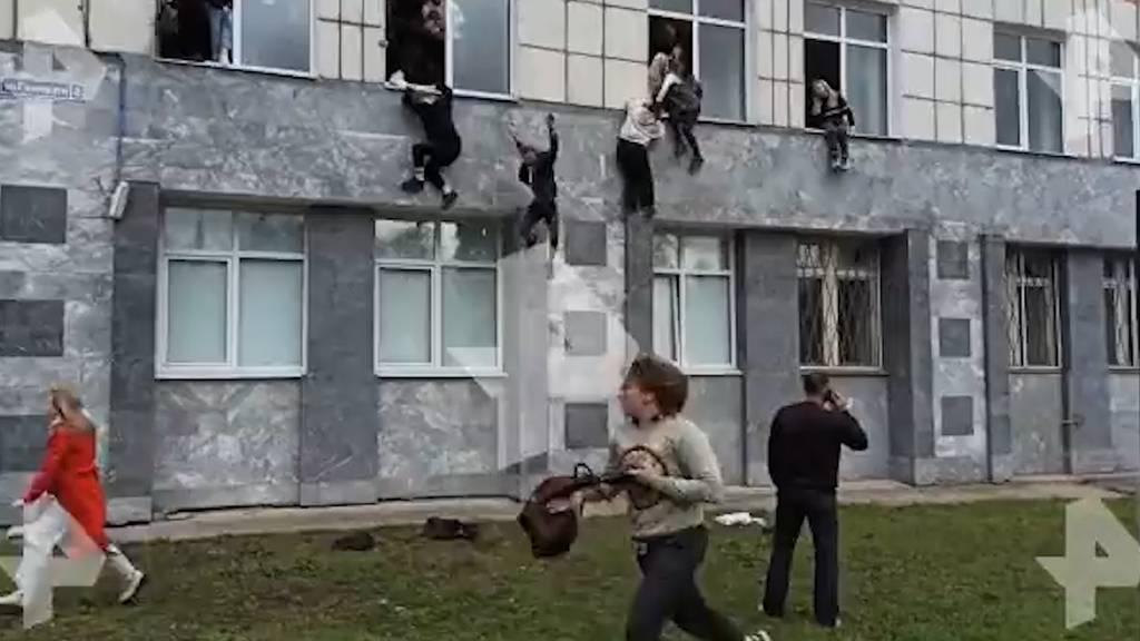 Sechs Menschen sterben bei Amoklauf an russischer Universität