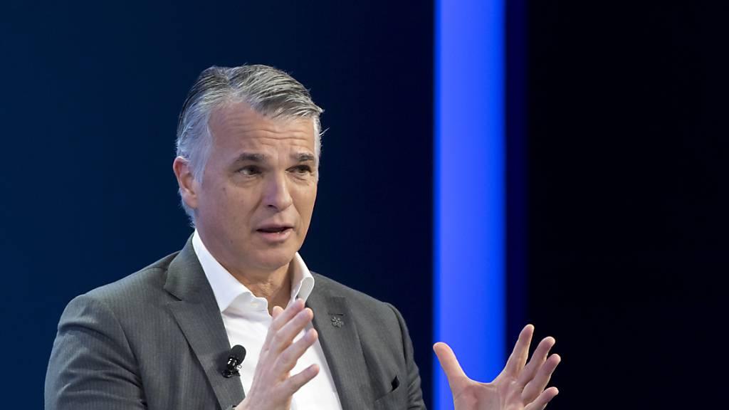 UBS-Chef Ermotti verabschiedet sich mit Gewinnsprung