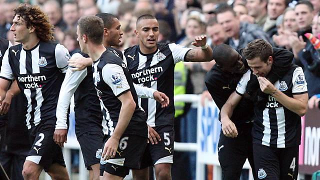 "Den ""Elstern"" läufts: Newcastle United jubelt"