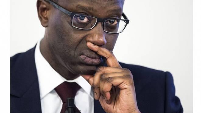 Baut die Credit Suisse einschneidend um: CEO Tidjane Thiam. Foto: Keystone/Ennio Leanza