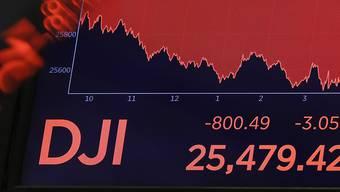 Die Börse ist auf Talfahrt – aber noch ist es zu früh, um die Krise auszurufen. (Symbolbild)
