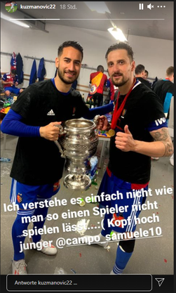Kuzmanovic äussert sich zum Klassiker gegen den FCZ.