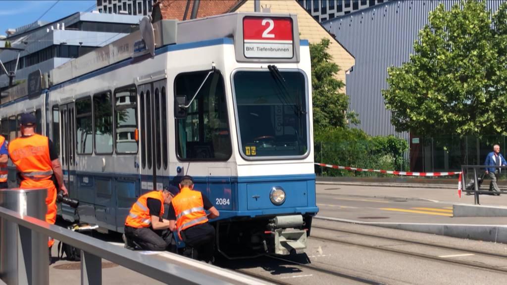 Tramunfall in Schlieren fordert Schwerverletzten