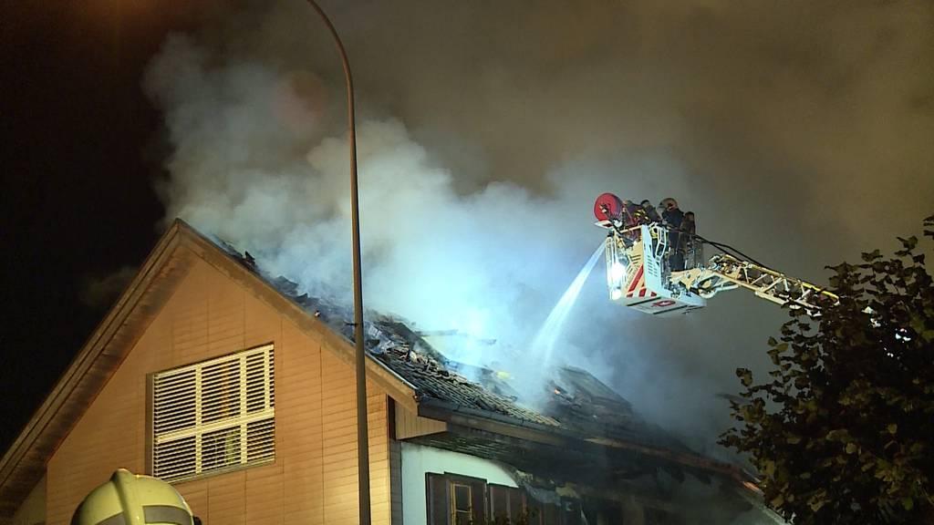Erneuter Brand in Mehrfamilienhaus in Selzach