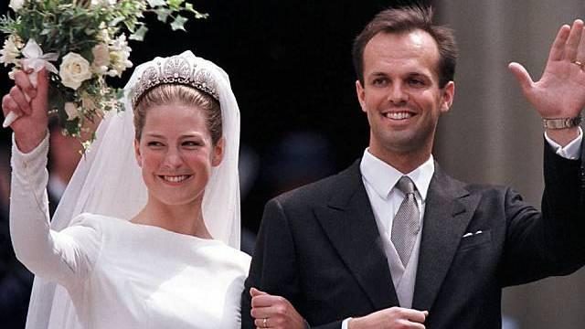 Die glücklichen Eltern am 5. Juni 1999 (Archiv)