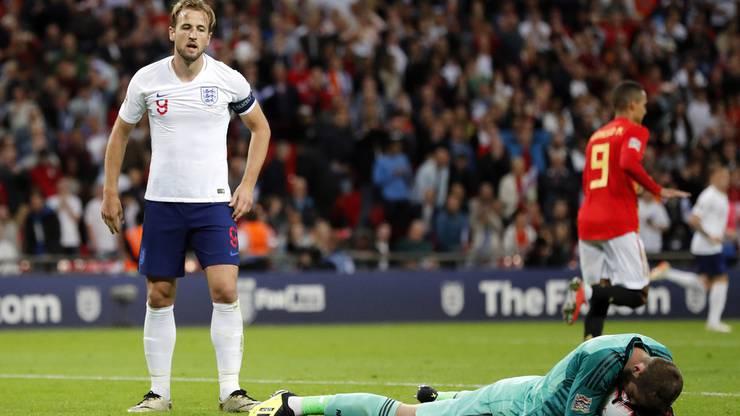 Nach dem Spiel von England in der Nations League gegen Spanien kommen bei den Briten Zweifel auf.
