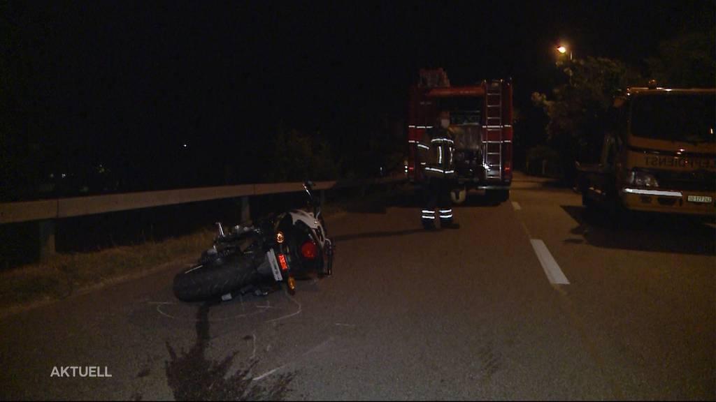 Tödlicher Unfall: In Niedergösgen stirbt ein junger Töfffahrer bei einem Überholmanöver