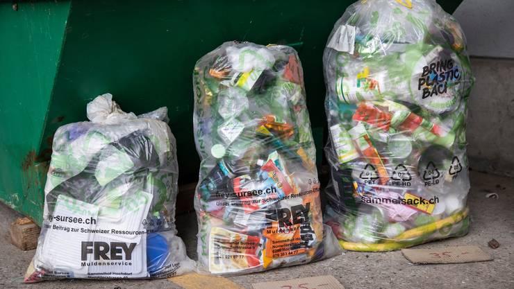 In den Kantonen Thurgau und Aargau ist letztes Jahr am meisten Kunststoffabfälle gesammelt worden.
