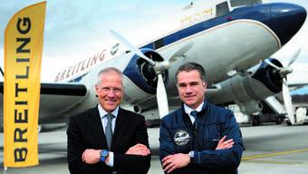 Breitling-DC-3 ist zur Weltumrundung aufgebrochen