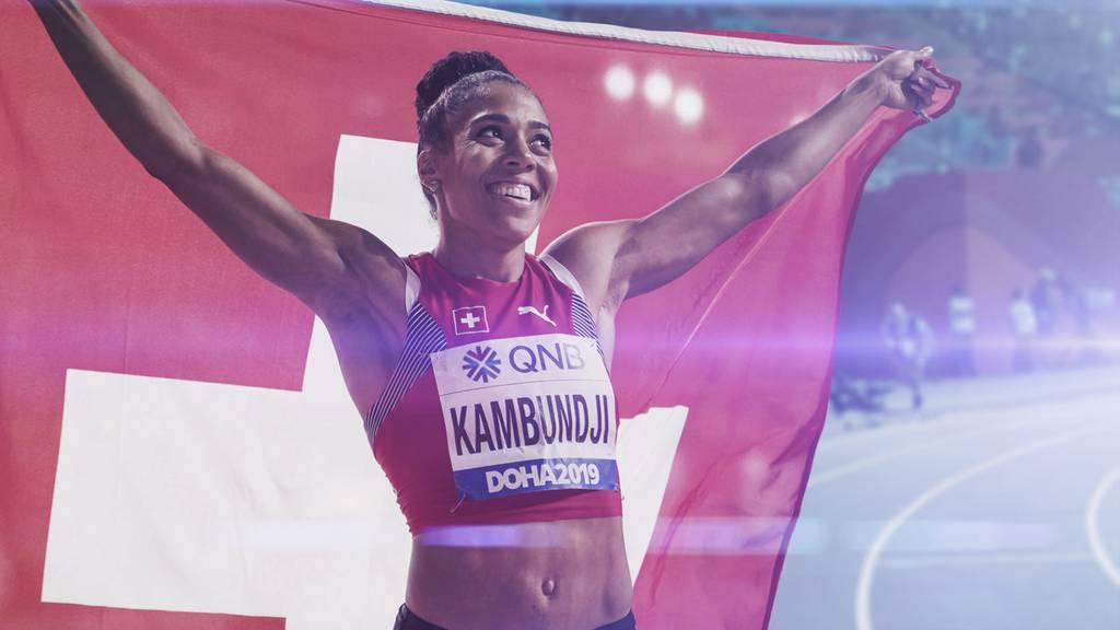 Leichtathletik-WM: So stolz ist die Schweiz auf Kambundji