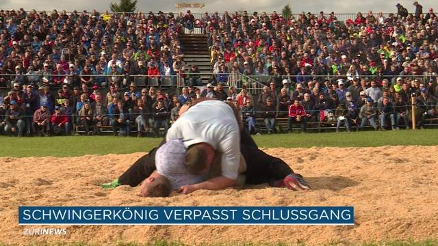 Matthias Glarner verpasst Schlussgang
