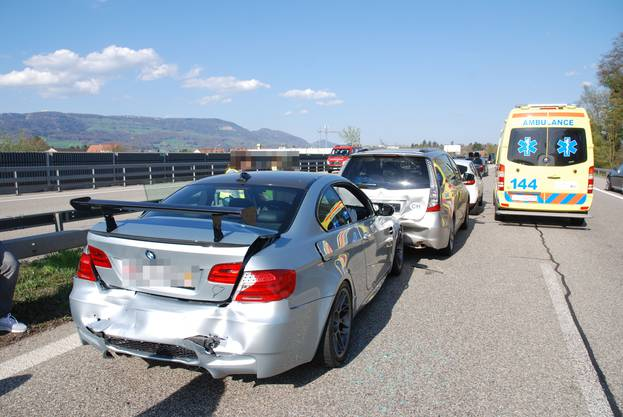 Unfall in Luterbach