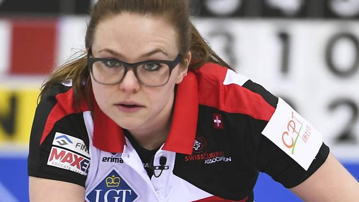 Alina Pätz spielt in Tirinzonis Team auf der vierten Position