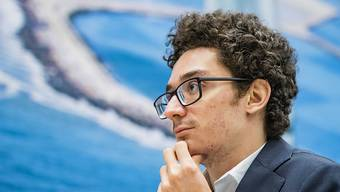 Fabiano Caruana aus den USA rettete sich am Sonntag ins Remis.