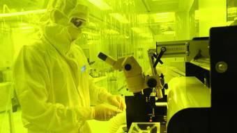 Blick in ein Rolic-Labor.