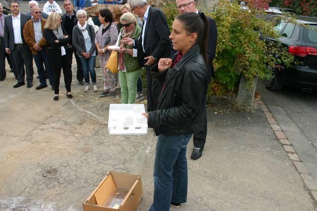 In kleinen Kisten zeigte Kienholz eine Auswahl der Funde