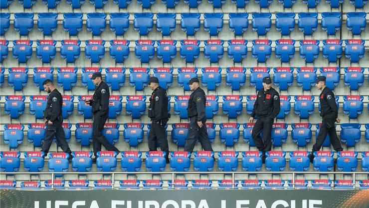 Über Tausend Polizisten standen am Europa-League-Final in Basel im Einsatz – viele fühlten sich von der Polizeileitung zu wenig wertgeschätzt.