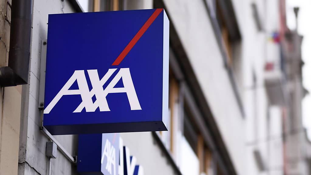 Axa Schweiz hält Gewinn mit geringerem Volumen stabil. (Archiv)