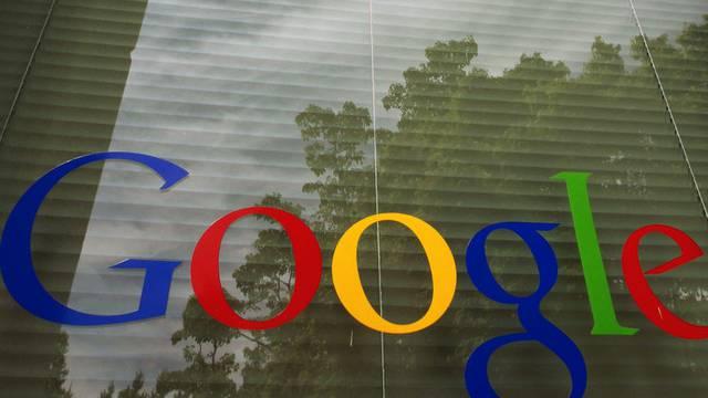 Logo am Google-Hauptsitz im kalifornischen Mountain View (Archiv)