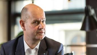 Direktionspräsdient Dieter Widmer.