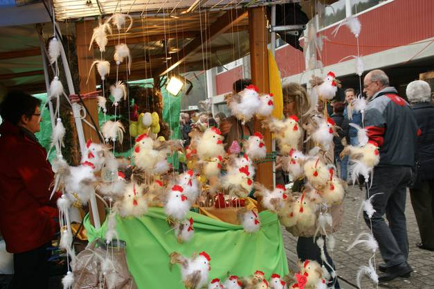 Da tanzen die Hühner