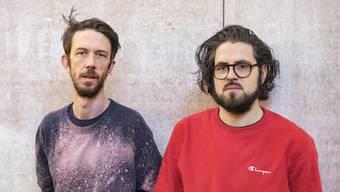 Fabian Gisler (links) und Victor Moser sind Musiker und Repräsentanten der IG für eine breitere Musikförderung.