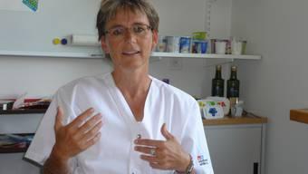 Ernährungsberaterin Cornelia Albrecht hält wenig von strikten Regeln. esf Ernährungsberaterin Cornelia Albrecht hält wenig von strikten Regeln. esf
