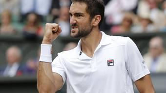 Marin Cilic steht nach zuletzt drei Viertelfinal-Niederlagen in Serie erstmals in Wimbledon im Final