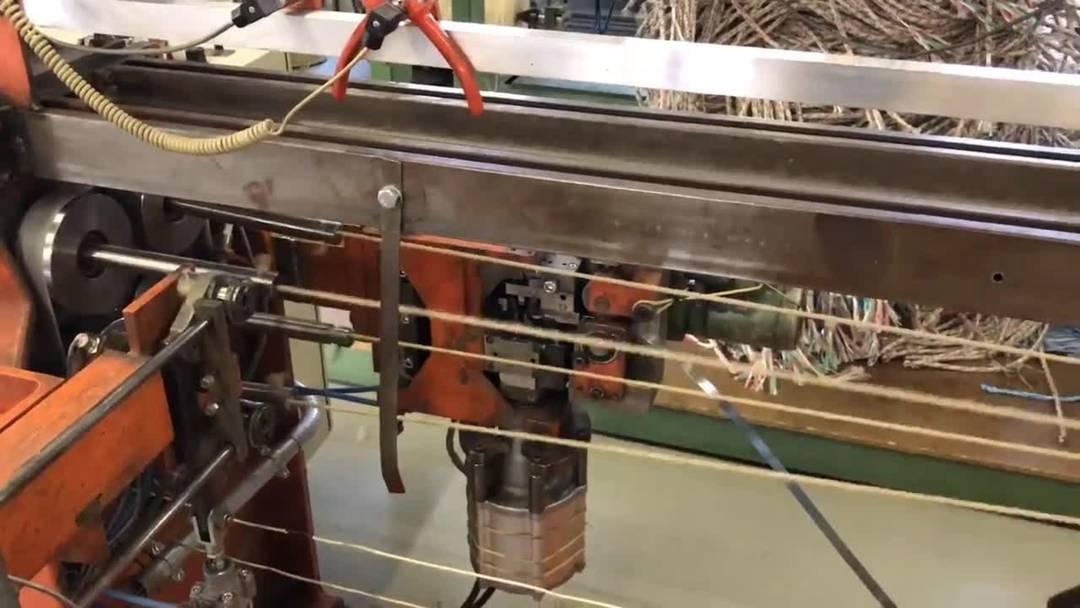 So wird in der Seilerei Berger, Laupersdorf, ein Seil gedreht