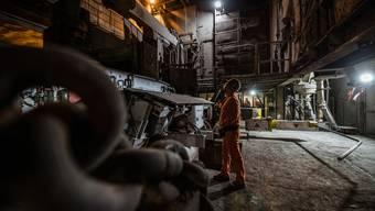 Ofen an im Stahlwerk Gerlafingen