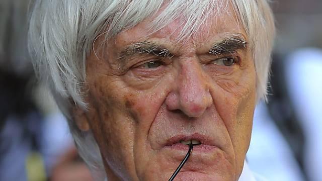 Die Gemeinde Saanen, zu der der Nobelferienort Gstaad gehört, muss Kiener Einsicht gewähren. Auch Prominente wie der Formel-1-Chef Bernie Ecclestone (Bild) leben in Gstaad. (Archivbild)